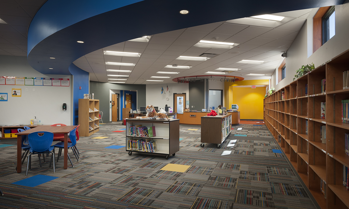 Townsend Elementary Library Mass Architects